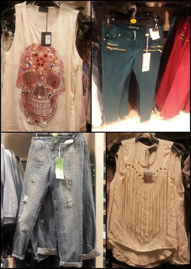 3 regatas e jeans